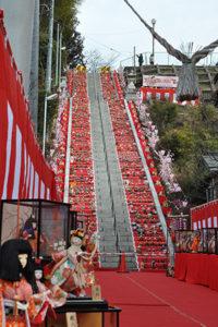 百段階段ひな祭り大子
